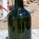 U G B #13 olive green or green bottle beer or soda #13 on the bottom empty