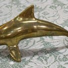 Brass Dolphin paperweight or just a decorative collectible unknown maker