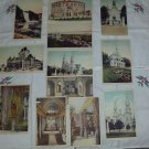 Vintage 1930s Quebec Canada White Border Postcard Lot Set of 12 UNUSED UNPOSTED