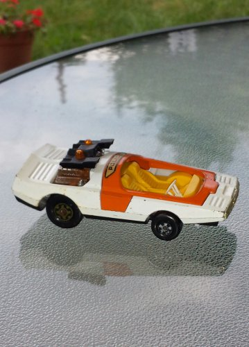 "Vintage 70s MATCHBOX Speed Kings BANDOLERO Police Car K 36/41 1972 4"" Diecast Toy Car"