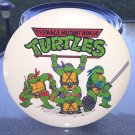 "Vintage 80s TEENAGE MUTANT NINJA TURTLES Giant 6"" Pinback Button Display Piece MIRAGE STUDIOS"