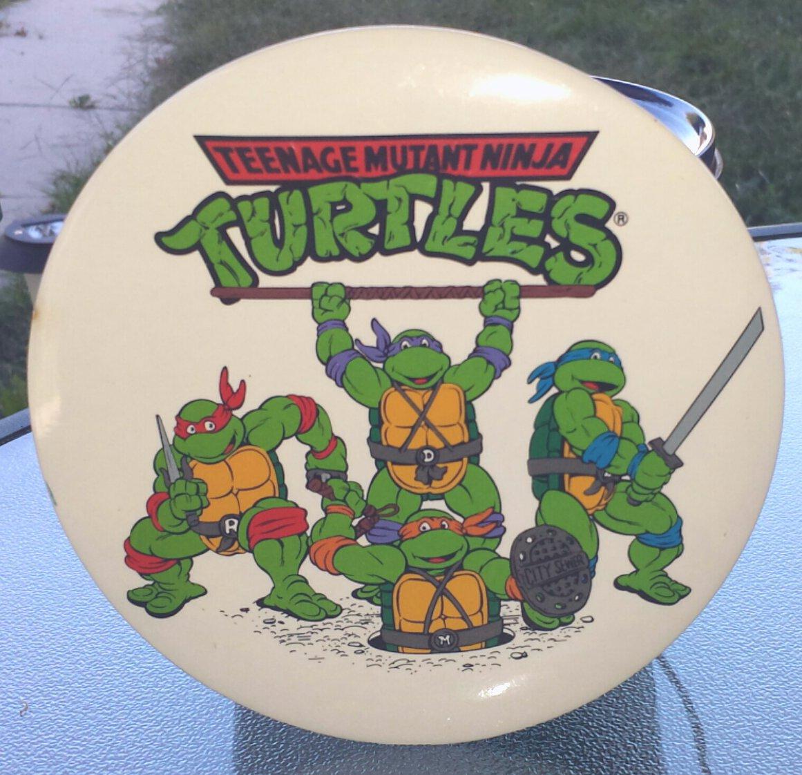 Vintage 80s TEENAGE MUTANT NINJA TURTLES Giant 6