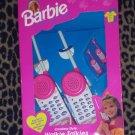 Vintage BARBIE Cordless Style Walkie Talkies 1995 NEW In Box!