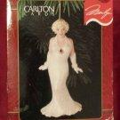 Vintage 1996 Carlton Cards MARILYN MONROE Christmas Ornament NIB