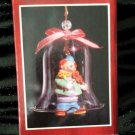 Ring In The Clowns Crystal Porcelain Bell Collectible Keepsake Christmas Ornament NIB