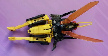 Vintage G1 Transformer Deluxe Insecticon Ransack Loose Action Figure 1985
