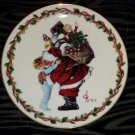 Vintage 1988 Gorham Leyendecker CHRISTMAS HUG Collectible Plate 9""