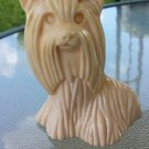 Vintage 70s AVON Princess of Yorkshire Yorkie Dog Cologne Decanter Collectible
