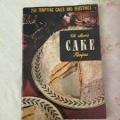 250 Classic Cake Recipes Culinary Arts Institute 1953 Vintage Cookbook Booklet