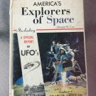 America's Explorers of Space by Donald W. Cox 1967 vintage hardcover book