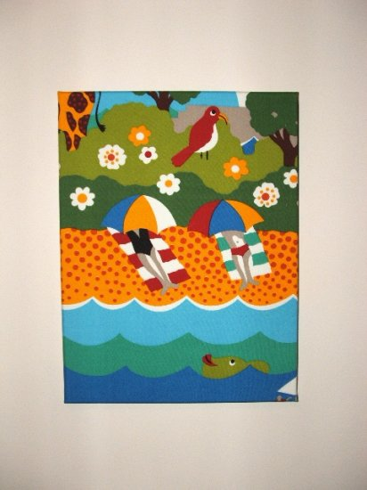 'Sunning in Sydney' - Limited Edition Fabric Wall Hanging