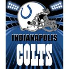"""Indianapolis Colts Fleece Blanket 50""""x60"""" (NEW!!)"""