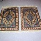 Persian Oriental handmade silk rug
