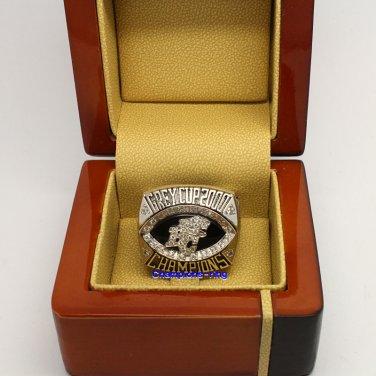 2000 BC Lions CFL Grey Cup Football Championship Ring