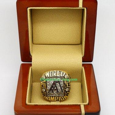 2001 Arizona Diamondbacks mlb World Series Baseball League Championship Ring