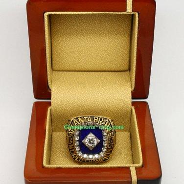 1995 Atlanta Braves mlb World Series Baseball League Championship Ring