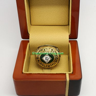 1972 Oakland Athletics mlb World Series Baseball League Championship Ring