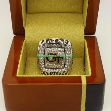 2014 Georgia Tech Yellow Jackets Orange Bowl dec NCAA Football Championship Ring