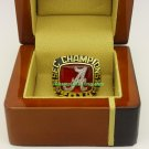 2014 Alabama Crimson Tide SEC Fans NCAA Football Championship Ring