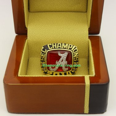2014 Alabama Crimson Tide SEC Fans NCAA Football Championship Ring