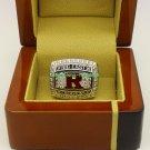 2012 Rutgers Scarlet Knights Big East NCAA Football Championship Ring