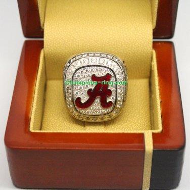 2012 Alabama Crimson Tide SEC NCAA Football Championship Ring