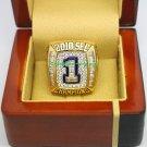 2010 AU Auburn Tigers SEC NCAA Football National Championship Ring