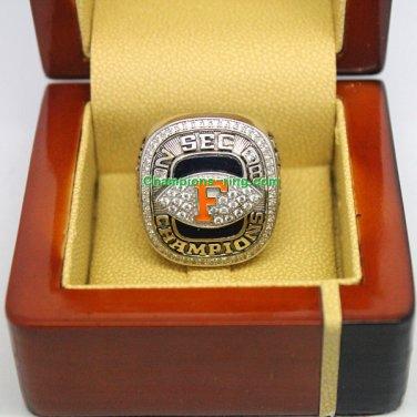 2008 Florida Gators SEC NCAA Football National Championship Ring