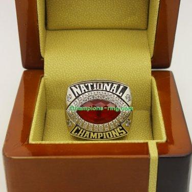 2008 Florida Gators BCS NCAA Football National Championship Ring