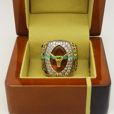 2005 Texas Longhorns Rose Bowl NCAA Football National Championship Ring