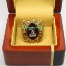 1997 Nebraska Cornhuskers Bowl Alliance Coaches' Football National Championship Ring