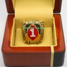 1994 Nebraska Cornhuskers NCAA Football National Championship Ring