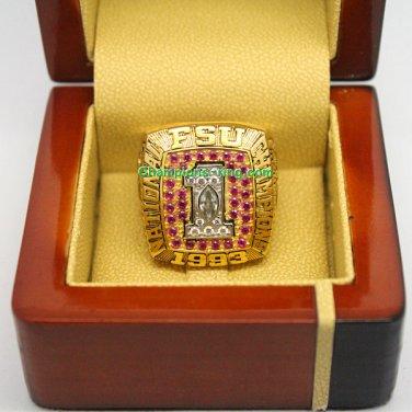1993 Florida State Seminoles FSU NCAA Football National Championship Ring