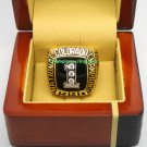 1990 Colorado Buffaloes NCAA Football National Championship Ring