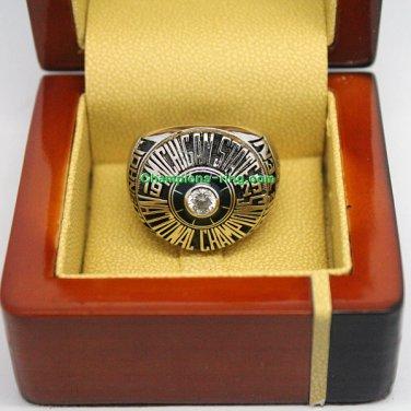 1979 Michigan State Spartans ncaa Basketball Championship Ring