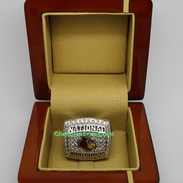 2013 Louisville Cardinals Ncaa Basketball Championship Ring