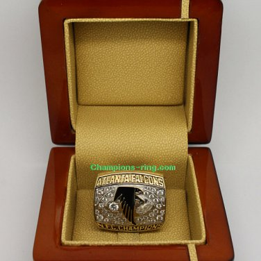 1998 Atlanta Falcons NFC National Football Conference Championship Ring