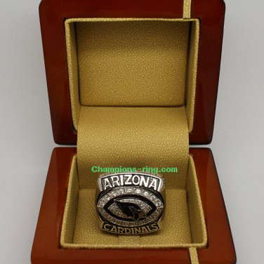 2008 Arizona Cardinals NFC National Football Conference Championship Ring