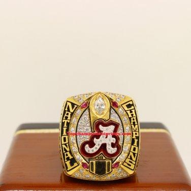 2015 Alabama Crimson Tide NCAA Football National Championship Ring