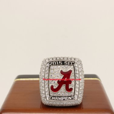 2015 Alabama Crimson Tide SEC Football Championship Ring
