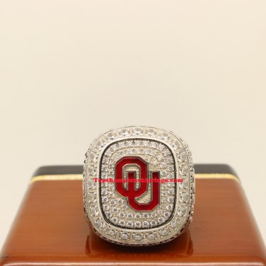 2015 Oklahoma Sooners Big 12 NCAA Football Championship Ring