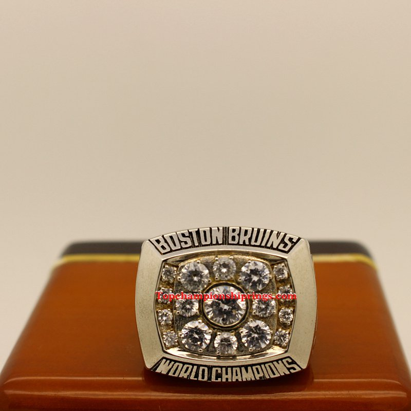 1972 Boston Bruins Stanley Cup Hockey Championship Ring