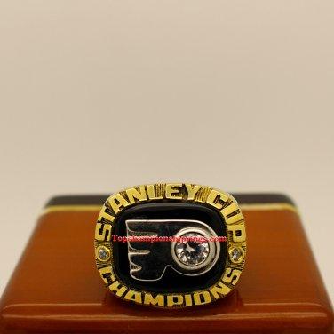 1974 Philadelphia Flyers NHL Stanley Cup Hockey Championship Ring