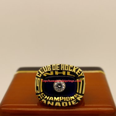 1977 Montreal Canadiens NHL Stanley Cup Hockey Championship Ring