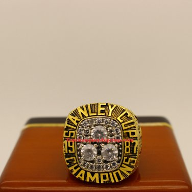 1987 Edmonton Oilers NHL Stanley Cup Hockey Championship Ring