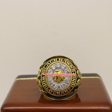1961 Chicago Blackhawks NHL Stanley Cup Hockey Championship Ring