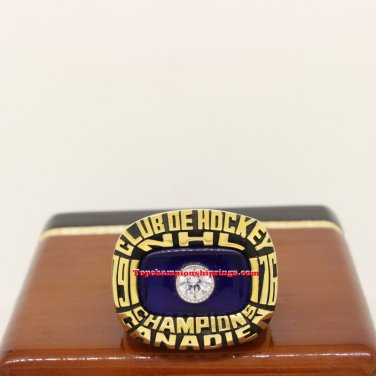 1976 Montreal Canadiens NHL Stanley Cup Hockey Championship Ring