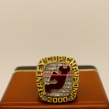 2000 New Jersey Devils NHL Stanley Cup Hockey Championship Ring