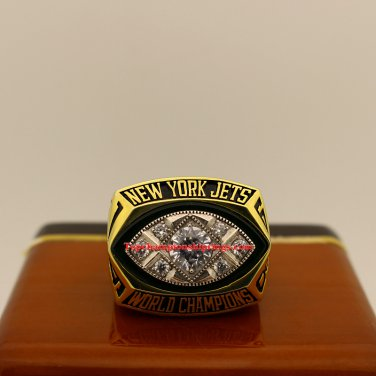 1968 New York Jets Super Bowl III nfl Football Championship Ring