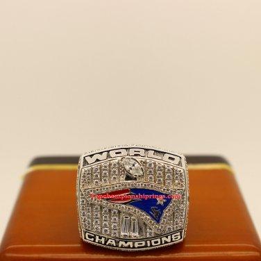 2001 New England Patriots Super Bowl XXXVI Football Championship Ring